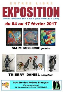 Expositions d'Art (affiches) 2017