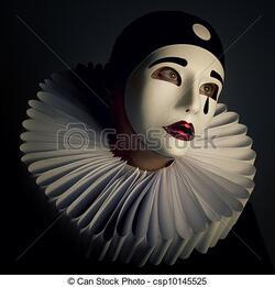 Pierrot, le clown triste.