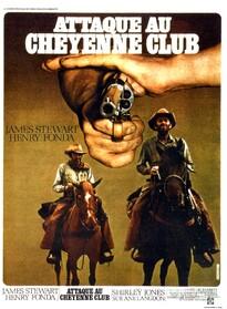 ATTAQUE AU CHEYENNE CLUB BOX OFFICE FRANCE 1971
