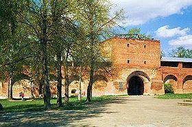 Tour Saint-Nicolas du kremlin de Zaraïsk.