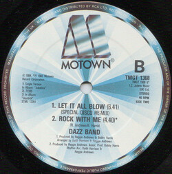 Dazz Band - Let It All Blow (Special Disco Re.Mix)