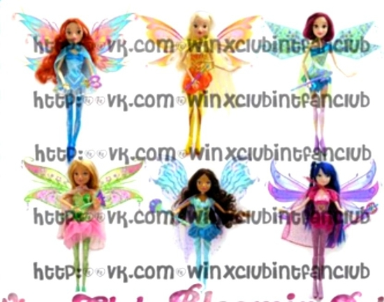 Winx Bloomix doll