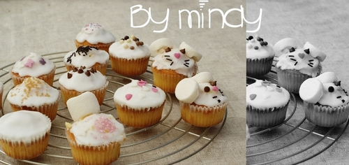 Cupcakes souris