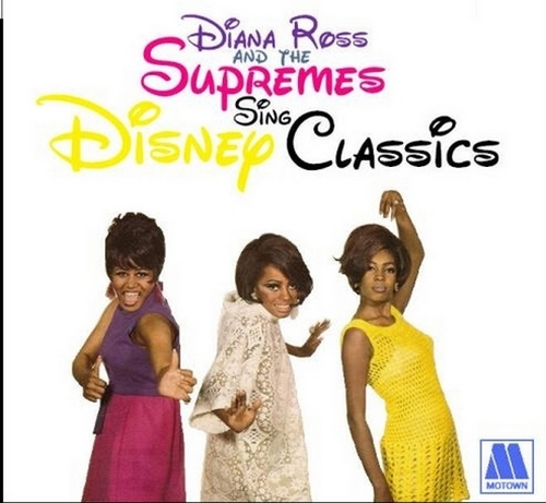 """Diana Ross & The Supremes : Album """" Sing & Perform Disney Classics """" Motown Records MS 671 [ US ]"""