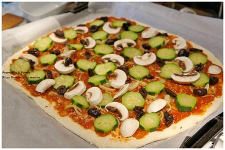 Recette de la Pizza Bernadetto - Olives noires