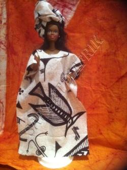 Poupées et tenues traditionnelles de Côte d'Ivoire: tenues du nord