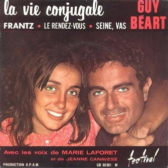 Guy Béart et Jeanne Canavese
