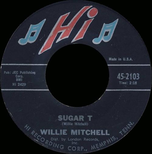 "2001 : Willie Mitchell : CD "" Rarities "" Hi Records HILO 184 [ UK ]"