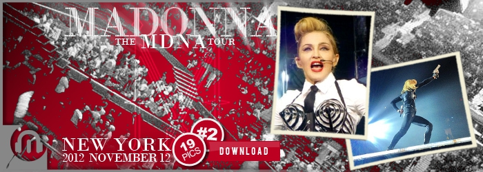 The MDNA Tour - NYC Nov12 - Pictures 2