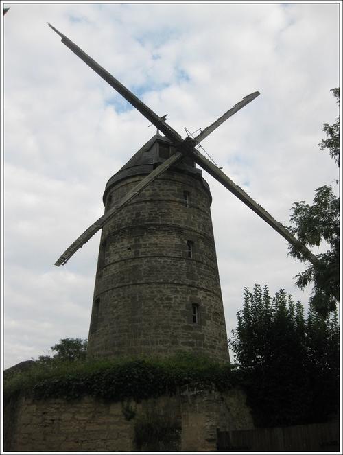 Moulin cavier de Doué la Fontaine