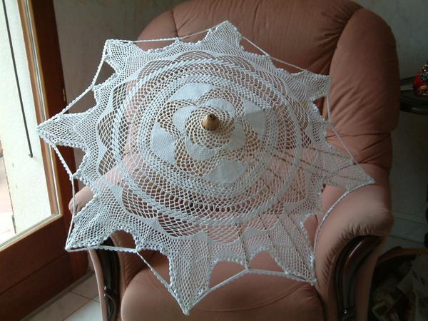 ombrelle au crochet