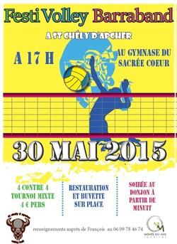 Tournoi st Chely d'Apcher 30 mai 17h