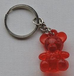 Porte-clés Ourson cristal