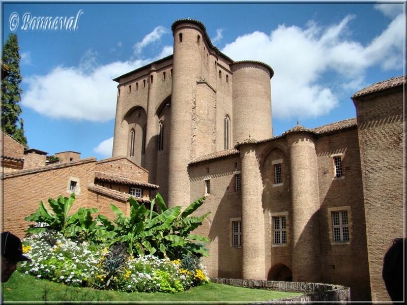 Albi Palais de la Berbie inscrit au Patrimoine Mondial de l'Humanié Unesco                                                                                                                                                                         Albi le Palaos de la Berbie isrit au Patrimoine Mondial de l'Unesco                                                                                           de l'Unesco