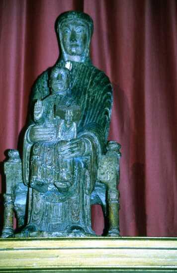 Vauclair, Vierge en majesté