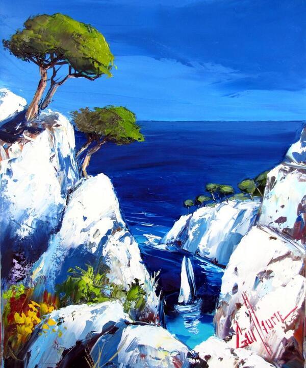 Peinture de : Jean Marc Guillaume