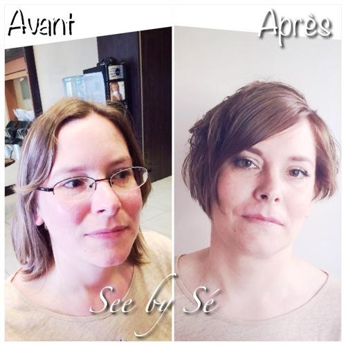 Relooking Avant/Après: Cindy & Anne