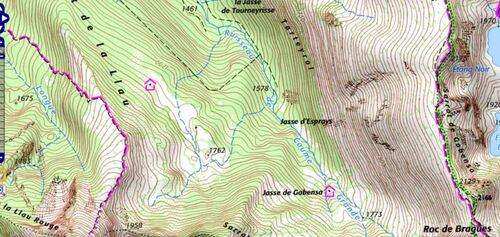 Rando : sur les flancs de la Husse (Gouaux de Luchon) - 31