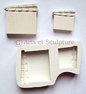 moule souple clap cinema - Arts et Sculpture: sculpteur mouleur