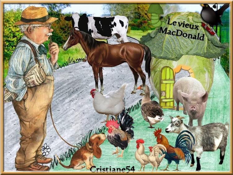Défi pour Marjolaine Le vieux McDonald !