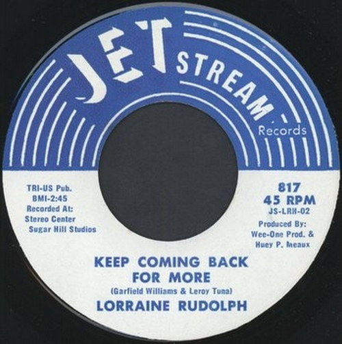 Lorraine Rudolph : Keep Coming Back For More