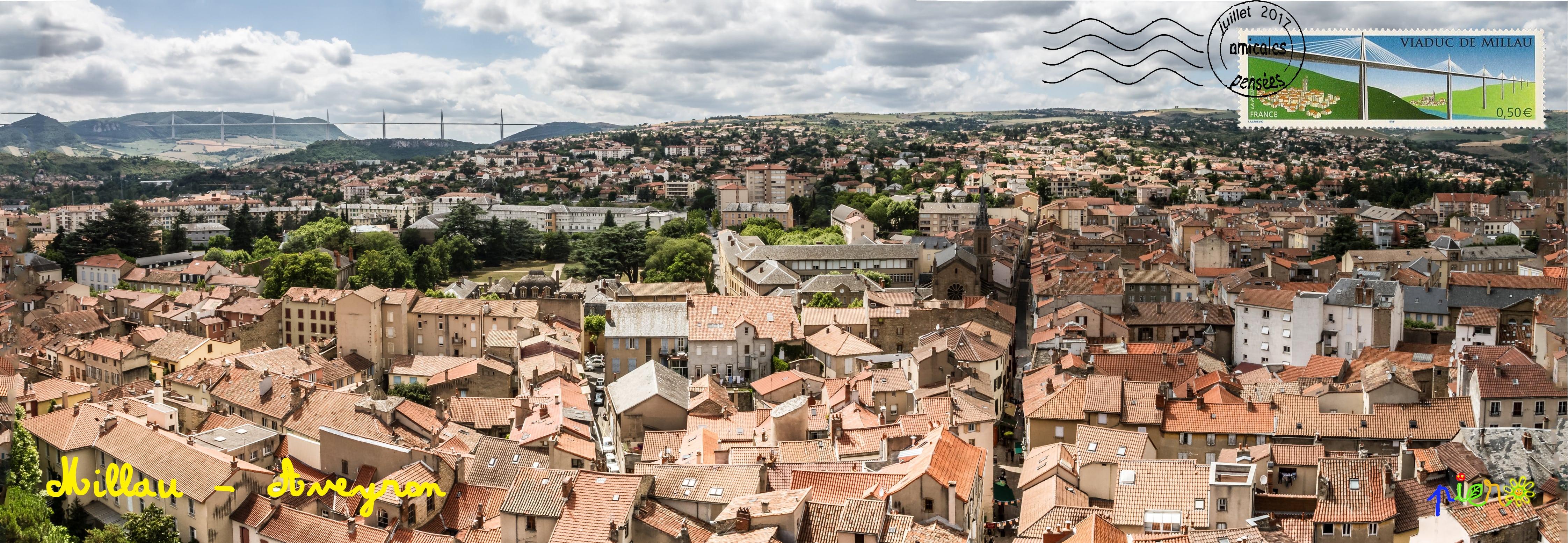 Millau - Aveyron - juillet 2017.