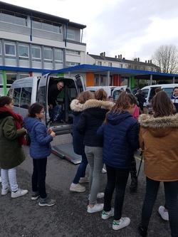 Récolte au collège St Augustin à Angers le 19/12/2019