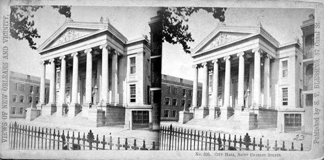 Architecture coloniale de la Nouvelle-Orléans