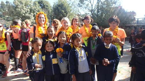 Le Népal comme terrain d'entrainement
