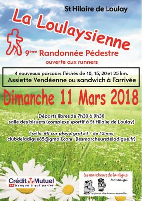 Rando La Loulaysiènne 2018