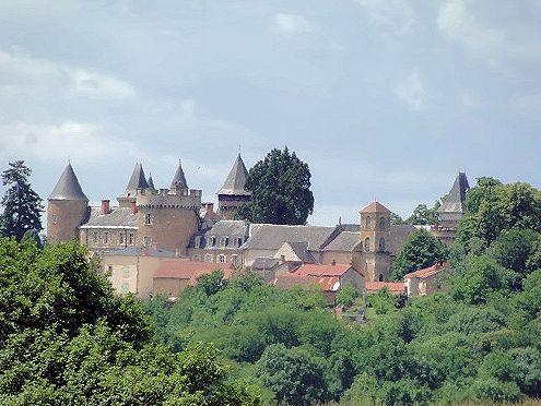 chateau de busset - allier