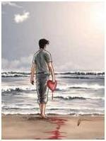 il y a...le ciel ,le soleil, et la mer par Mamin