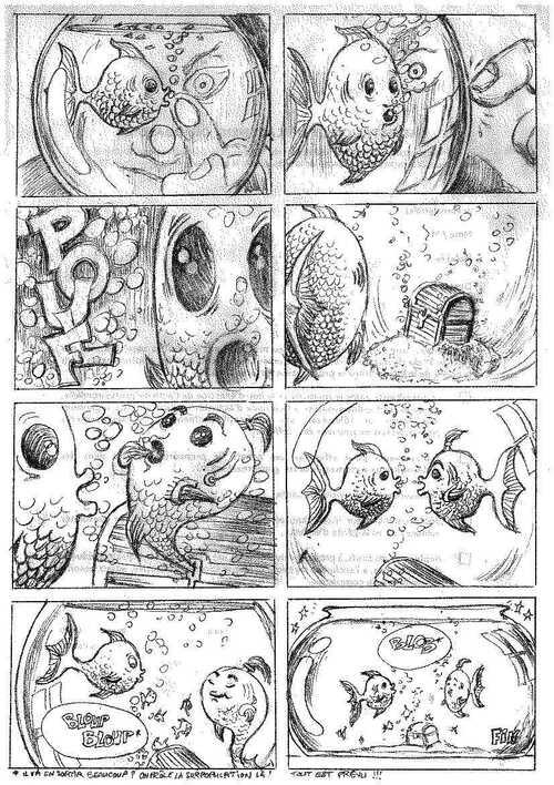 Histoire de petit poisson