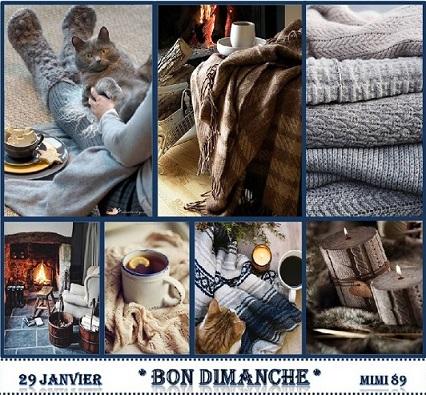Carte Bon Dimanche !