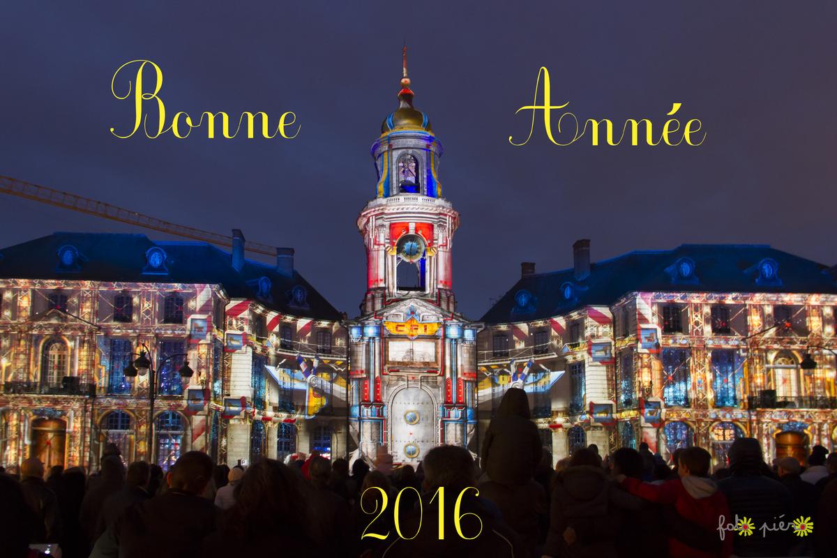 Bonne Année à Tous.