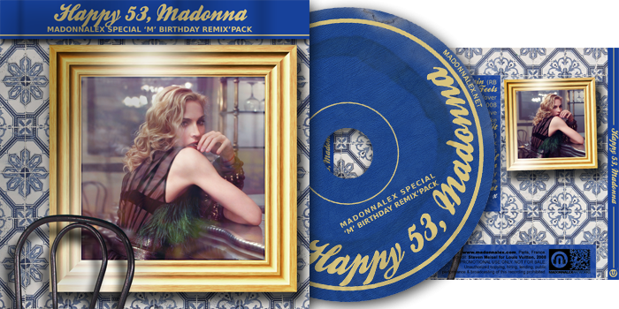 Happy 53, Madonna - Madonnalex Special M Birthday Remix Pack