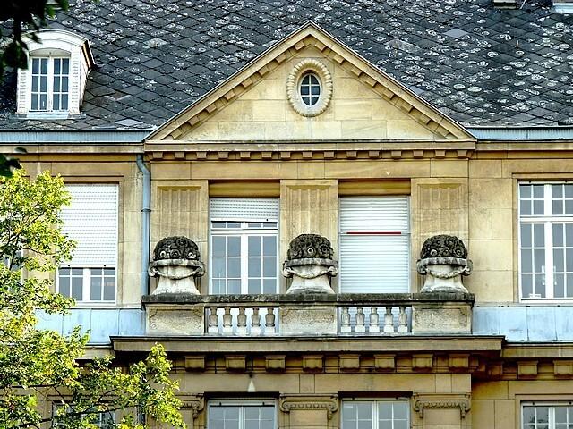 Les frontons de Metz 93 Marc de Metz 2012