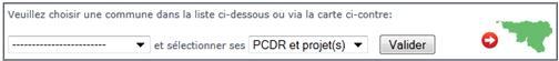 Exemples de PCDR