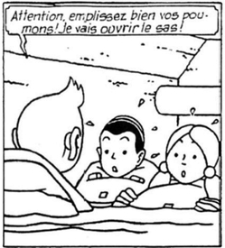 "Tintin et le Lac Aux Requins : attention à la version ""Rodier"""