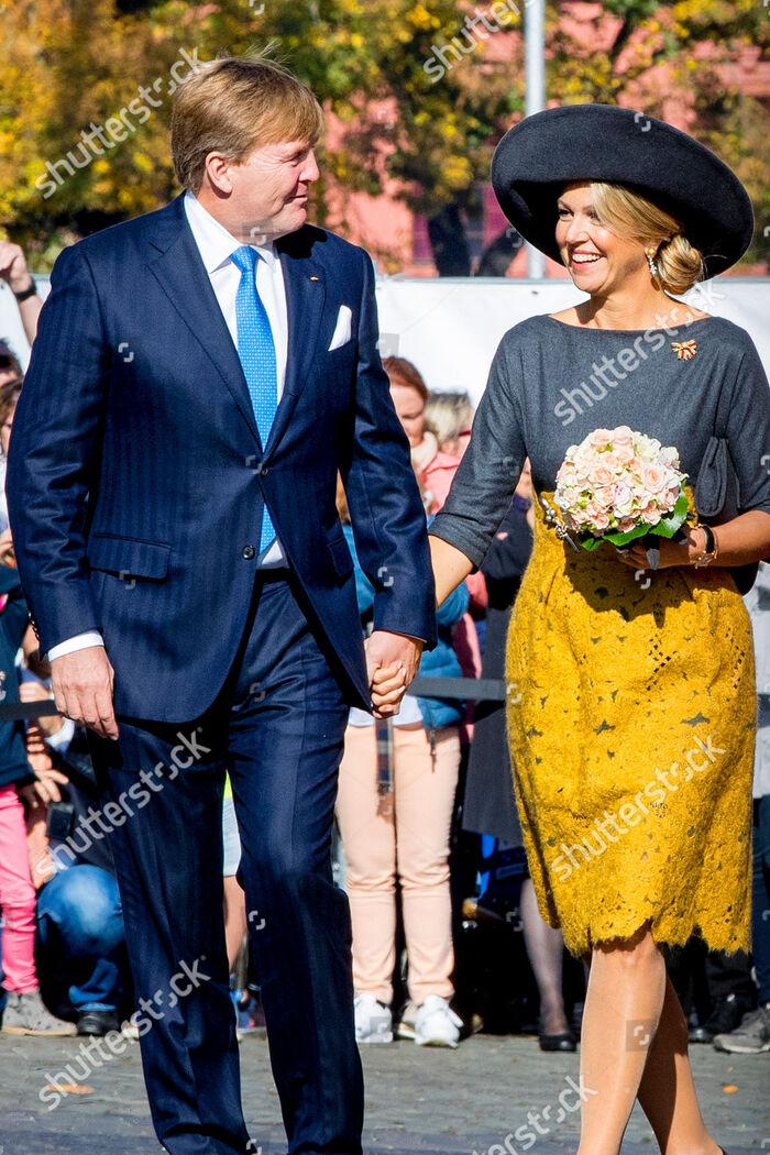 Willem et Maxima en Allemagne
