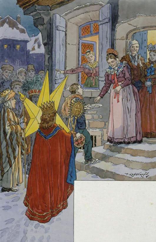 Noël en Alsace : Épiphanie