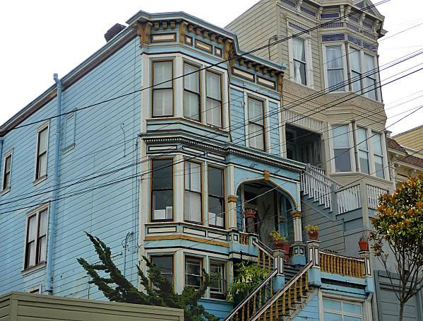 San Francisco Castro Maison bleue