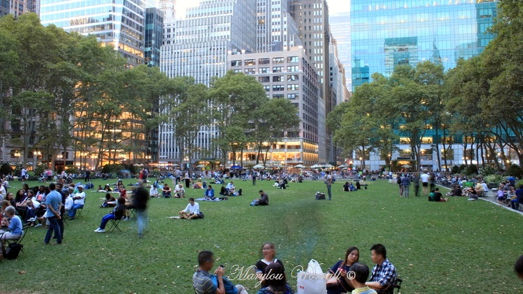 New York : Bryant Park