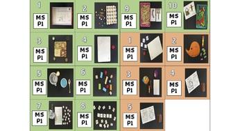 Etiquettes P1 et matériel pour 200 ateliers autonomes en MS