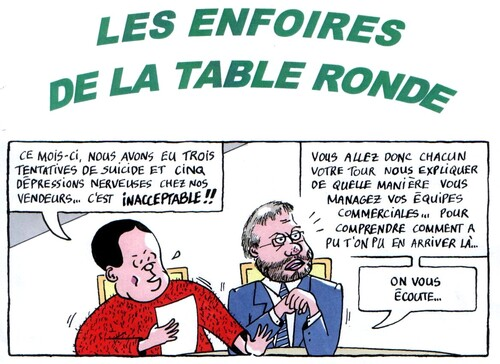 Les enfoirés de la table ronde