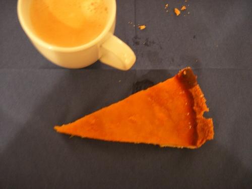 Pumpkin pie (tarte au potiron)