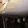 pose du plafond du rez de chaussé en placo (8)
