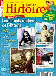 Histoire Junior n° 76 - Juil./Août 18