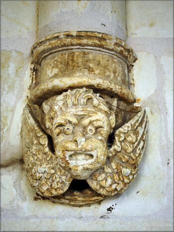 Photos détails architecturaux de l'Abbaye de Fontevraud