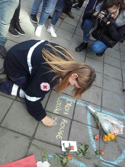 22/03/2016 - 22/03/2107 : Hommage des secouristes de notre commune